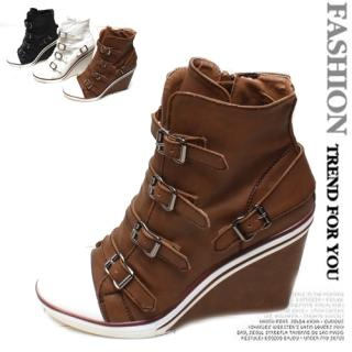 Buy Woorisin Wedge Boots 1022185629