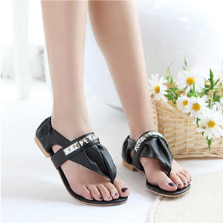 Picture of KAWO Studded Thong Sandals 1022875669 (Sandals, KAWO Shoes, China Shoes, Womens Shoes, Womens Sandals)