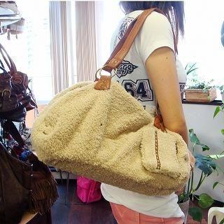 Buy anello Set: Fleece Shoulder Bag + Coin Purse Beige – One Size 1021070469