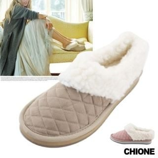 Picture of Chione Quilted Fleece Slippers 1021599238 (Other Shoes, Chione Shoes, Korea Shoes, Womens Shoes, Other Womens Shoes)