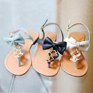 Buy KAWO Bow-Accent Thong Sandals 1022910244