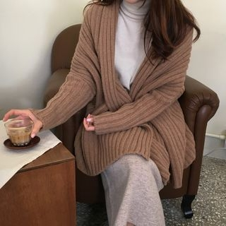 Ribbed Knit Cardigan 1063028518