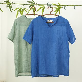 V-Neck Short-Sleeve T-Shirt 1058557742