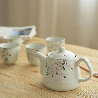 Set: Floral Teapot + Cup 1049822729
