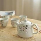 Set: Floral Teapot + Cup 1596