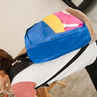 Color-Block Backpack