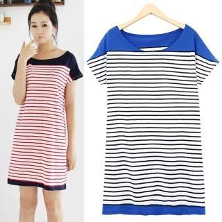 Buy HUE IT GIRL Short-Sleeve Stripe T-Shirt Dress 1022971857