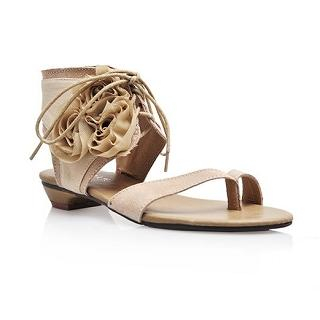 "Buy Smoothie Genuine Leather ""Corsage"" Sandals 1022580278"