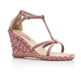 Buy Smoothie T-Bar Wedge Sandals 1022580370