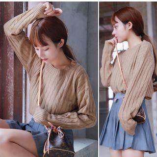 Rib Knit Sweater 1063792566