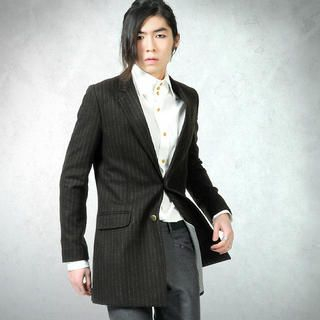 Picture of deepstyle 2 Button Wool Jacket 1021931598 (deepstyle, Mens Jackets, Korea)