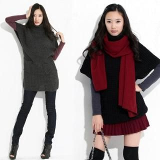 Buy Celli Girl Turtleneck Knit Dress 1021562720