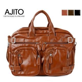 Picture of AJITO Zip Closure Tote 1023040294 (AJITO, Tote Bags, Korea Bags, Mens Bags, Mens Tote Bags)