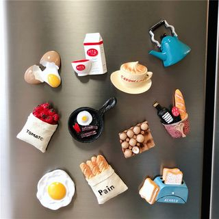 Image of 3D Food Fridge Magnet