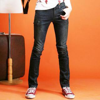 Buy SLOWBABA Washed Skinny Jeans 1021464290
