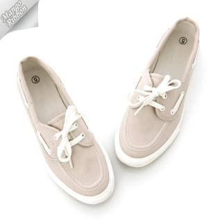 Buy Mango Ribbon Canvas Boat-Shoes 1022969184