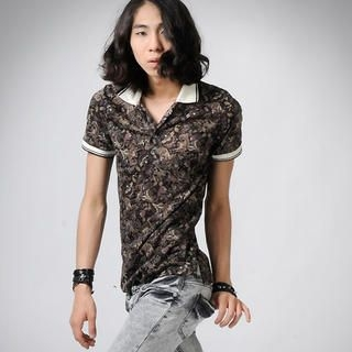 Buy deepstyle Floral Polo Shirt 1022852905