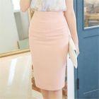 High-Waist Pencil Skirt 1596
