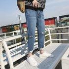 Slim-Fit Distressed Jeans 1596