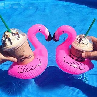 Flamingo Floating Drink Holder 1051479951