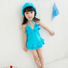 Kids Set: Swim Hat + Swimdress 1596