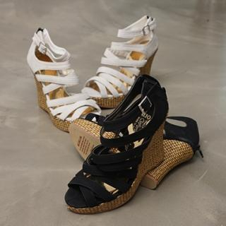 Buy Koo Strap Wedge Sandals 1022940453