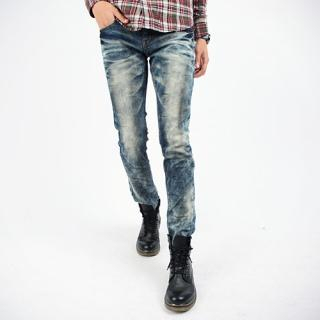Buy Style Engine Washed Jeans 1023059254