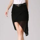 Asymmetric Mini Skirt 1596