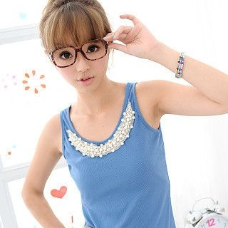 Picture of 59 Seconds Beaded Tank Top 1022935236 (59 Seconds Tees, Womens Tees, Hong Kong Tees, Causal Tops)