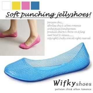 Buy Wifky Cutout Jelly Pumps 1022992040