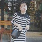 Set: Stripe Long-Sleeve Top + Skirt 1596