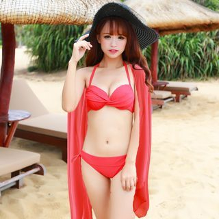 Set: Twist Bikini + Cover-Up 1049573980