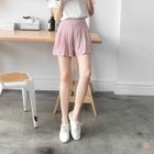 Wide Pleated Shorts 1596