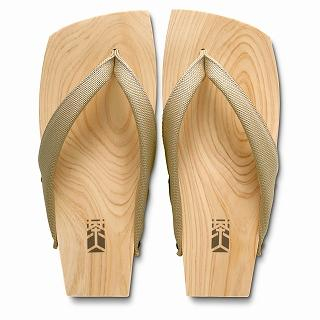 Picture of Mizutori Wood Sandals (Men) 1019588214 (Sandals, Mizutori Shoes, Japan Shoes, Mens Shoes, Mens Sandals)