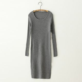Ribbed Knit Dress 1046730356