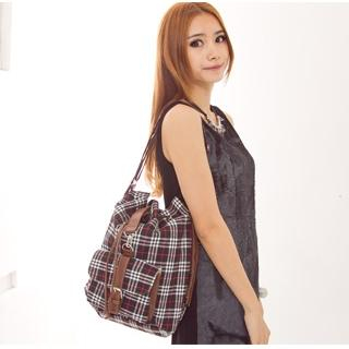 Buy Fashion Lady Convertible Plaid Bag 1022526058