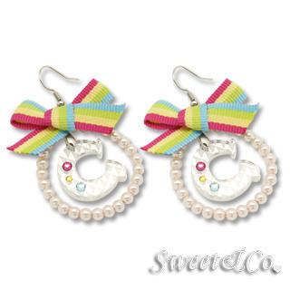 Swarovski | Rainbow | Earring | Silver | Hoop | Size | One