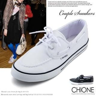 Picture of Chione Lace-Up Sneakers 1022254616 (Sneakers, Chione Shoes, Korea Shoes, Womens Shoes, Womens Sneakers)