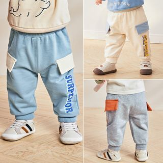 Image of Baby Lettering Pants