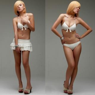 Buy LCLOTHES Set: Bikini + Skirt 1022960218