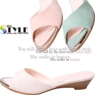 Buy Woorisin Wedge Mules 1022957800