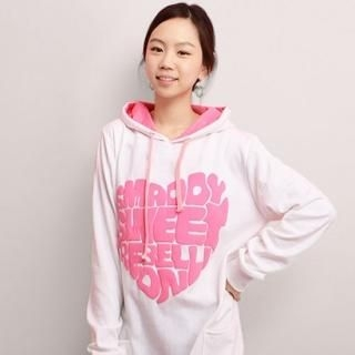 Buy CLICK Print Hooded Pullover 1022188347