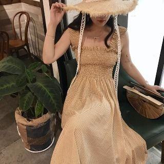 Sleeveless Smocked Dress 1061182941