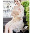 Set: Long-Sleeve Lace Dress + Sleeveless Dress 1596