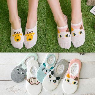 Image of Animal Print Low Socks