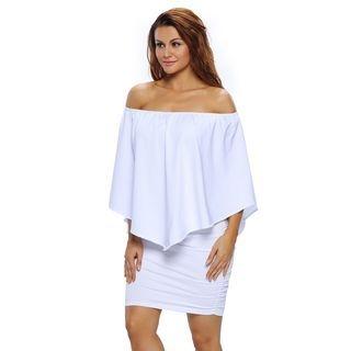Off-Shoulder Bodycon Dress 1060655891