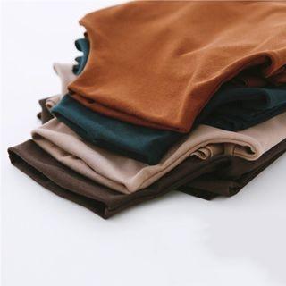 Mock-Neck Long-Sleeve T-Shirt 1063676908