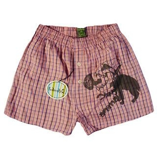 Buy Fraternity Printed Plaid Boxer 1023006556