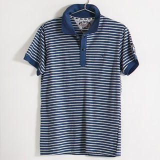 Buy SERUSH Striped Polo Shirt 1022885560