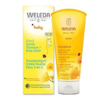 Weleda - Calendula Shampoo + Body Wash 6.8oz (For Baby) 6.8oz / 200ml 1596